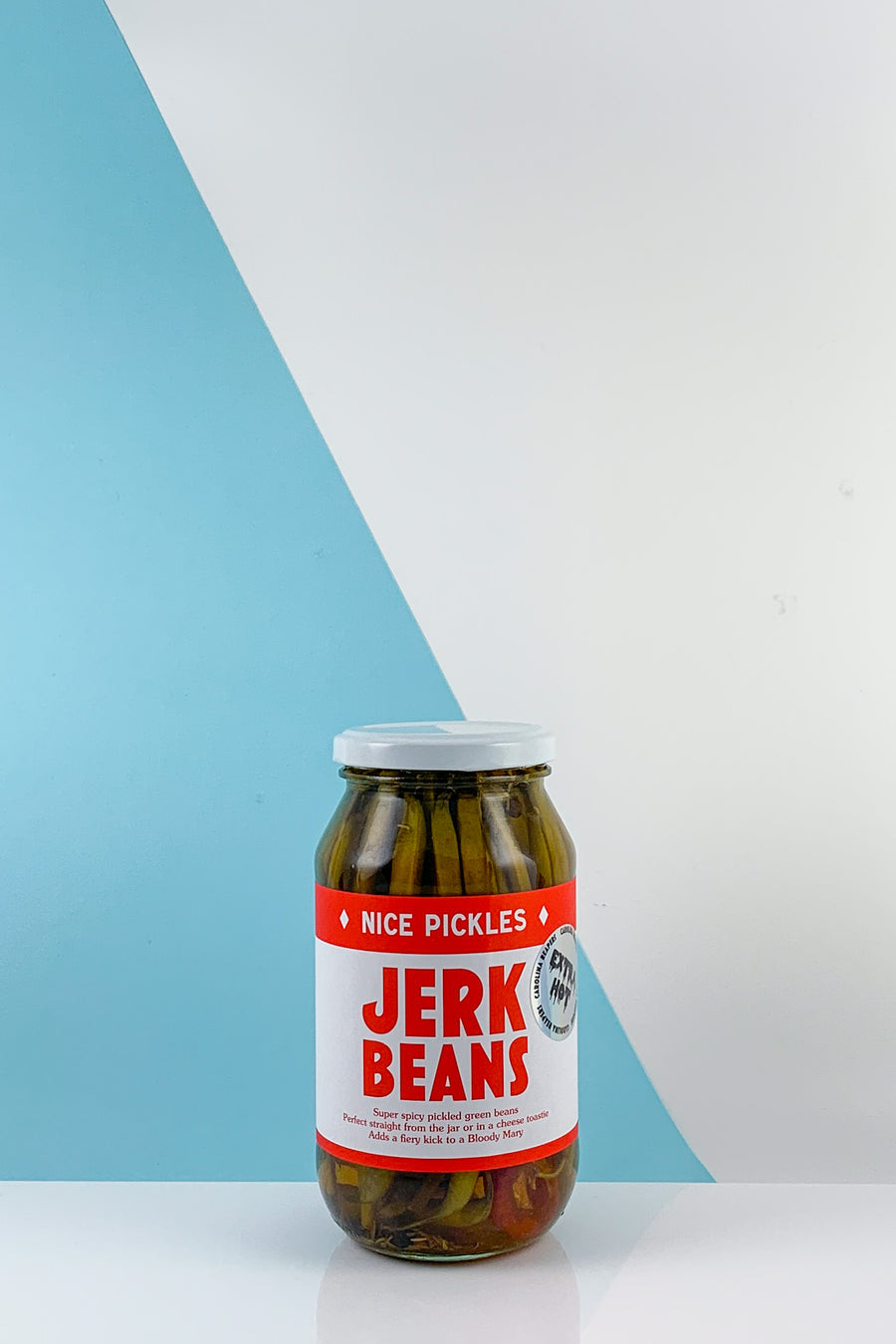 Nice Pickles Extra Hot Jerk Beans