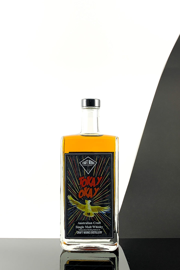 Craft Works Distillery Tokay Okay Single Malt Whisky