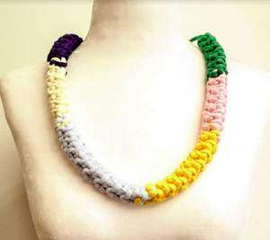 Reversible Multi Coloured Necklace - Gavina