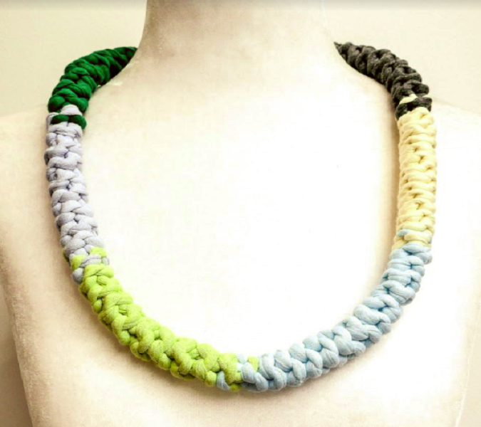 Reversible Multi Coloured Necklace - Giada