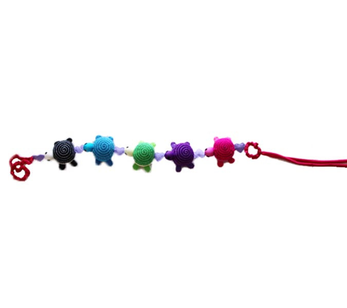 Turtle Pram String (assorted colors)