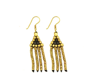 Dhokra Drop Earring