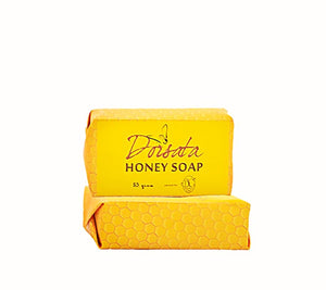 Natural honey soap bar