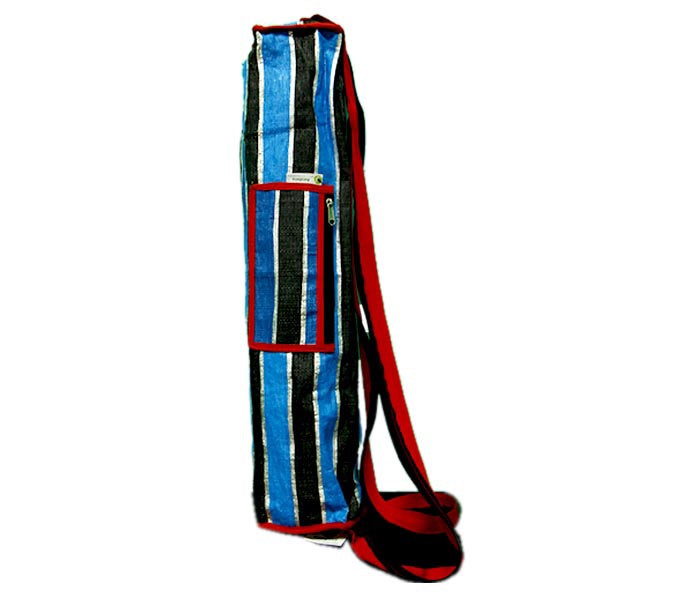 Yoga Bag - Blue, Black and Red