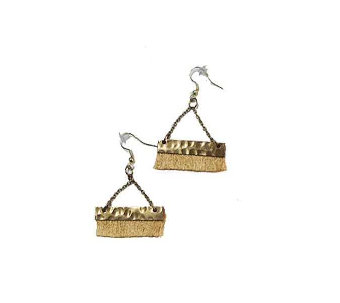 Tassel earrings - Golden