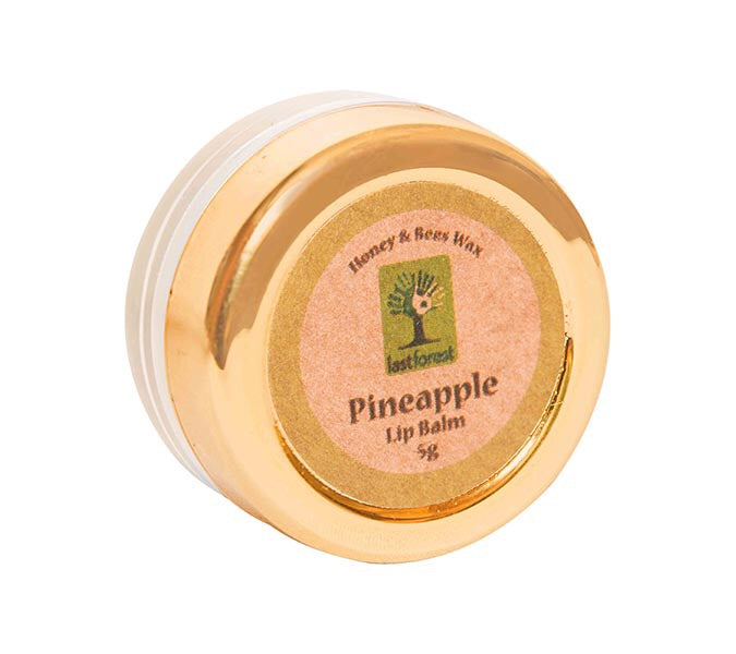 Organic Beeswax Lip Balm - Pineapple