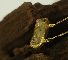 Frequency Necklace - Citrine