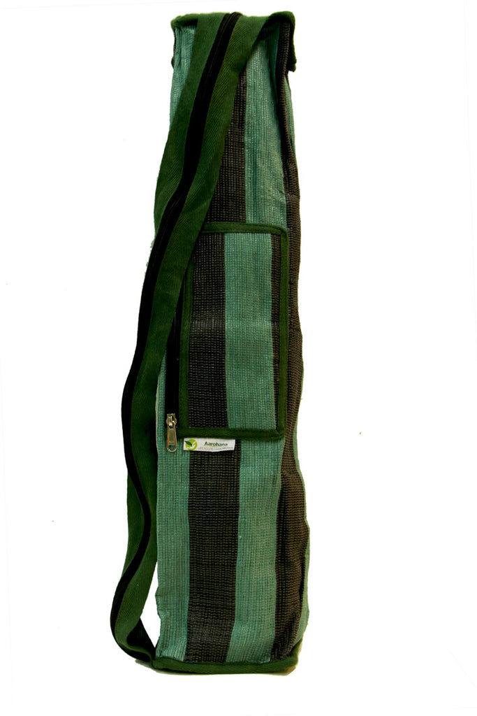 Yoga Bag - Green, black