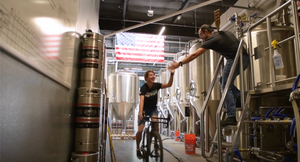Kathy Pruitt at Rouleur Brewing