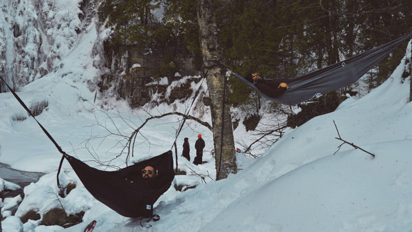 Pacific Rim Camping Backpacking Hammock winter