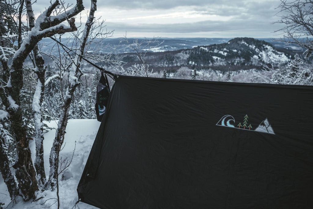 winter pacific rim hammock shelter by promethean outdoor supply