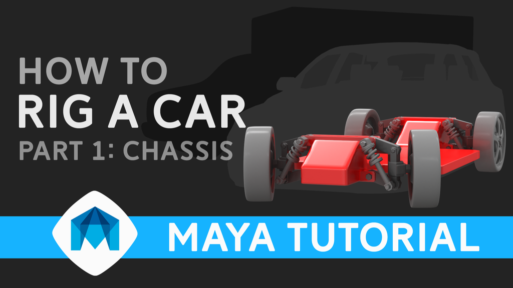 How to rig a car in Maya part 1