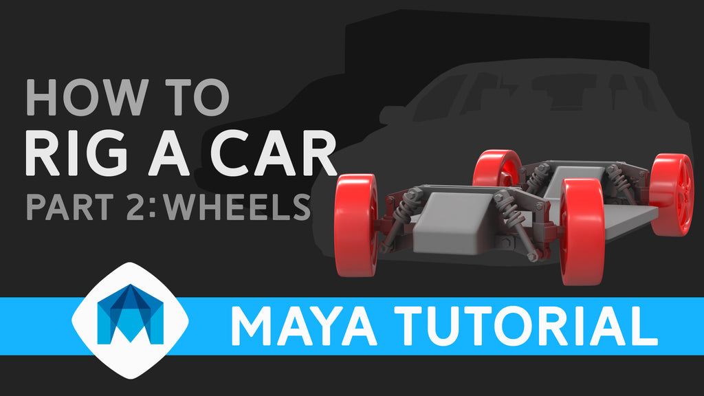 How to rig a car in Maya part 2