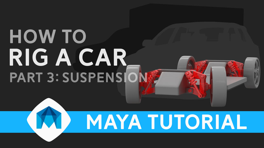 How to rig a car in Maya part 3