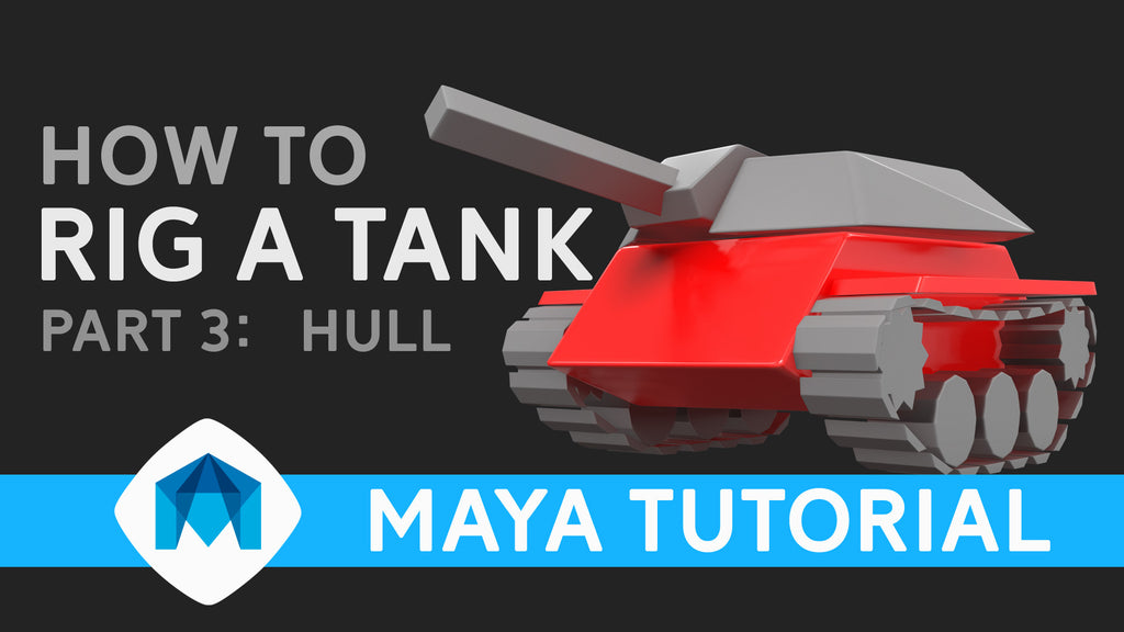 How to rig a tank in Maya part 3