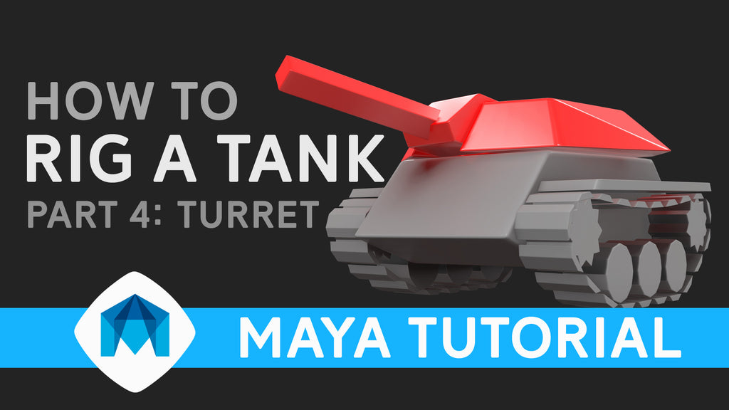 How to rig a tank in Maya part 4