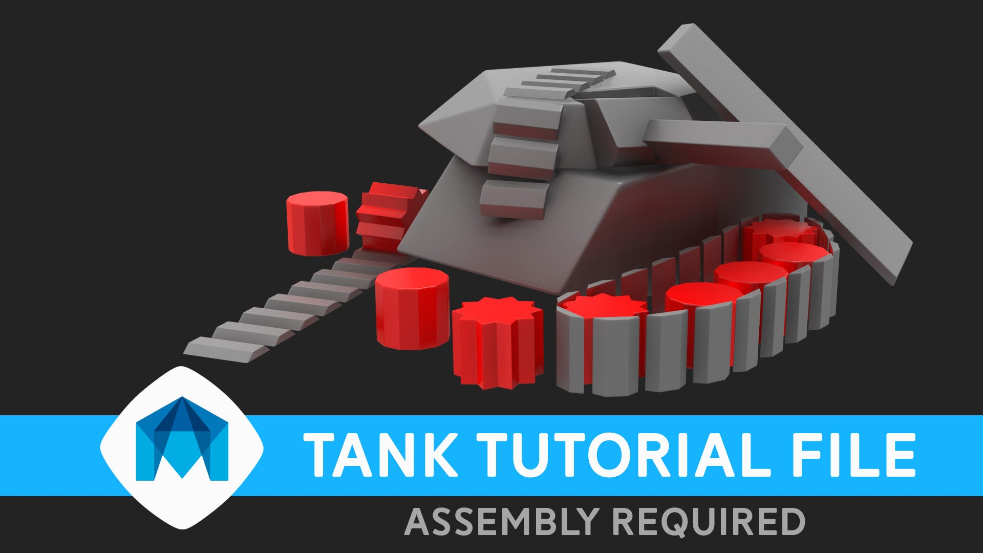 How to rig a tank in Maya part 1 – simonpaulmills
