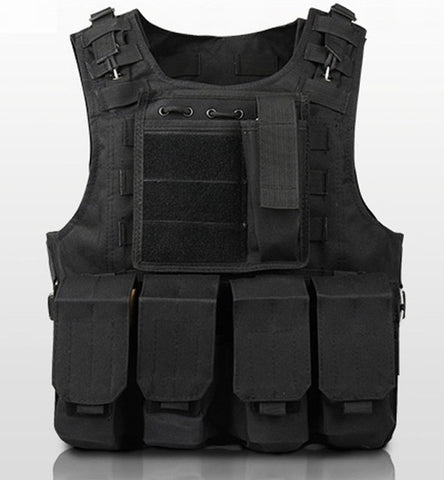 """The Enforcer""  Molle Loade Bearing Vest 6 colors - Proper Prepper"