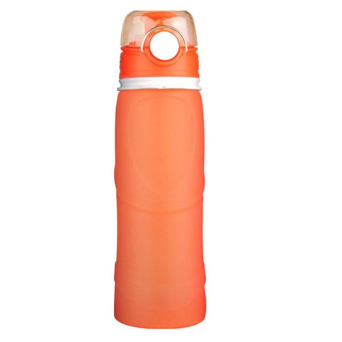 Collapsable Silicone 25oz Water Bottle 5 Colors - Proper Prepper