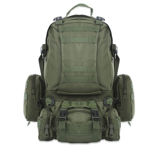 "The ""Bear"" 50L Tactical Backpack w/Raincover - Proper Prepper"