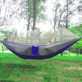 Parachute Hammock With Mosquito Net 9 Colors - Proper Prepper