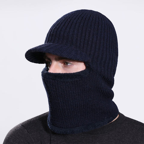 Knitted Balaclava with Visor - Proper Prepper