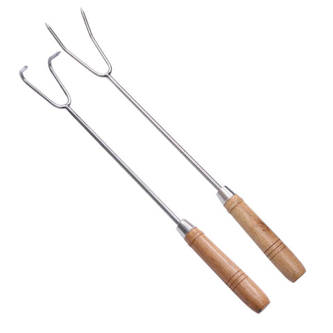 2Pcs Roasting Sticks