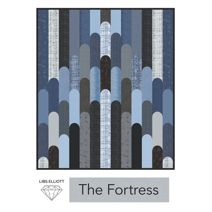 Fortress Quilt Pattern - PDF Download