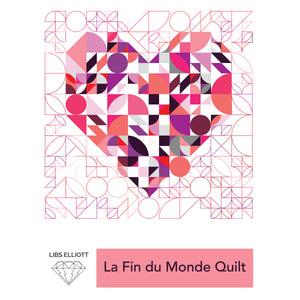 La Fin du Monde Quilt Pattern - PDF Download