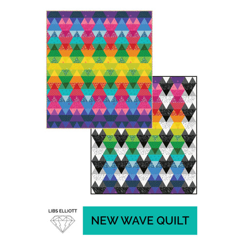 New Wave Quilt - PDF Download