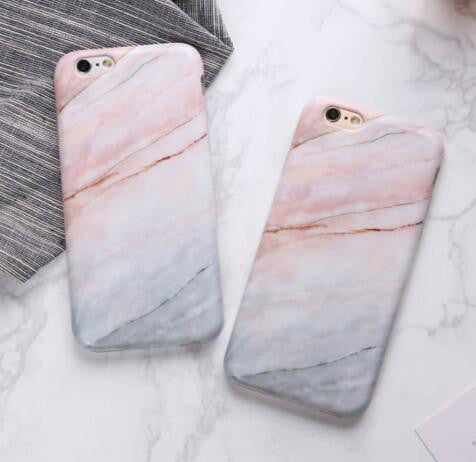 Marble Phone Case For iPhone 7 6 6s Plus - Beauty Trend Insider