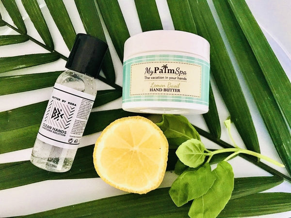 Clean Hands Aromatherapeutic Sanitizing Solution - butterbykeba.com