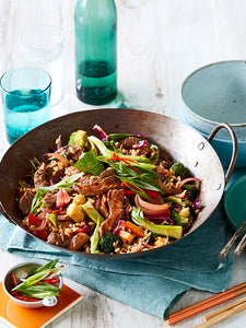 SWEET AND SOUR LAMB STIR-FRY
