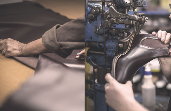 How Men's Boots are Made