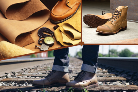 The Most Common Materials Used in Making Mens' Boots