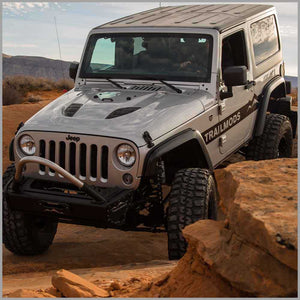 """Crawler Series"" Narrow Flare Set For 2007-2017 JK & JKU Jeep Wrangler"