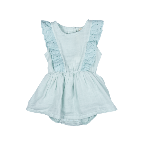 Mint Sadie Baby Dress