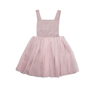 PINK PINAFORE DRESS - PINK