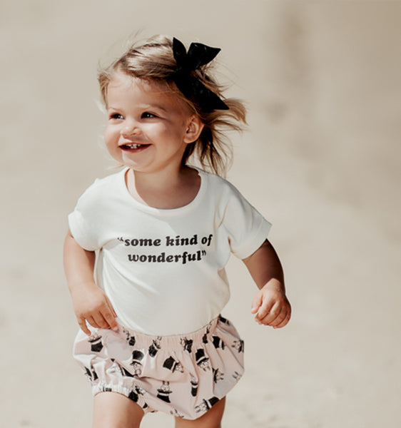 SOME KIND OF WONDERFUL BABY T-SHIRT - OATMEAL