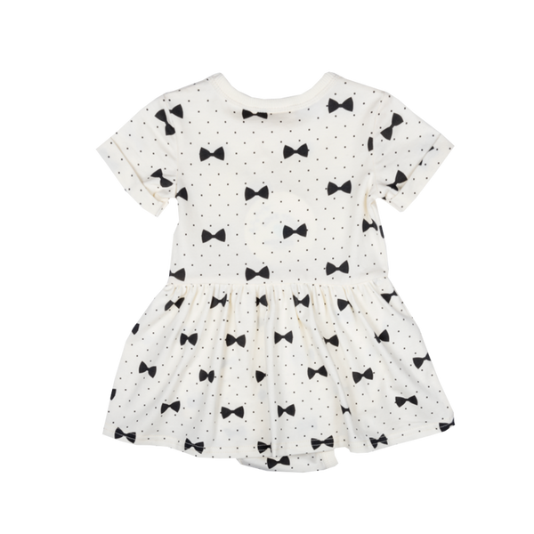 Bows Baby Waisted Dress