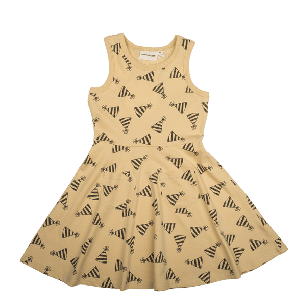 HATS POCKETS OF LOVE SINGLET DRESS - HATS