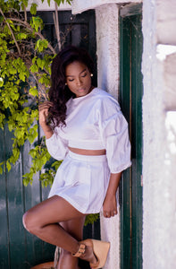 Versatile Bishop and Skort - White Set
