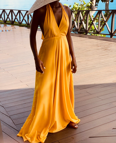 Romance Dress Yellow