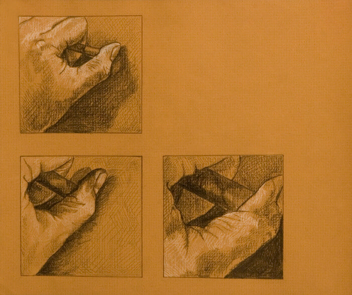 Hand Study 2002 Drawing