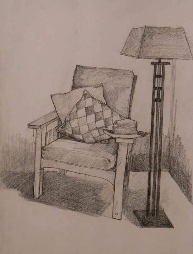 Furniture Study 2006 Drawing