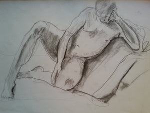 Figure Study 2 2014 Drawing
