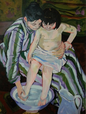 Study of Mary Cassatt's Painting