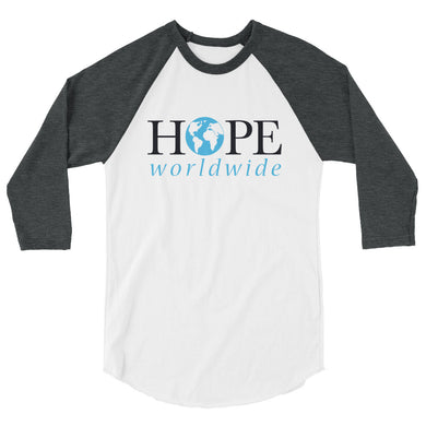 HOPEww baseball 3/4 sleeve shirt