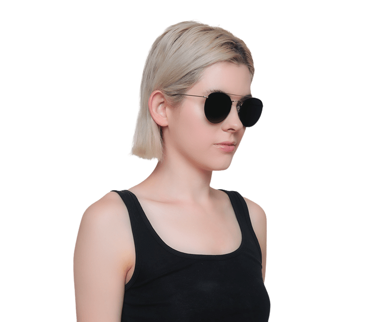 Icons -  Polarized Sunglasses by Jade Black