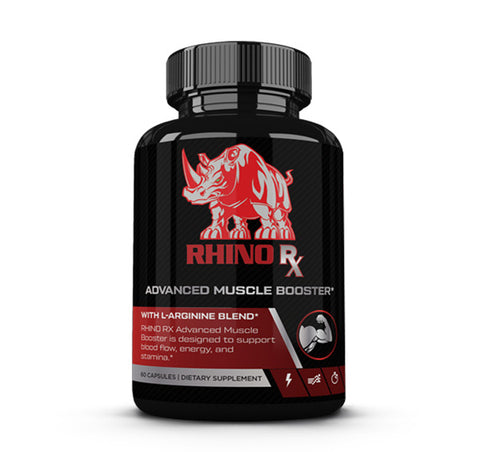 If your goal is to find a natural supplement that can help you build muscle, Rhino Advanced Muscle Booster is the best muscle building supplements you can find. The L-Arginine, combined with the L-Citrulline and Beta Alanine, will not only allow Rhino Advanced Muscle Booster to boost muscle growth, it will also help your overall health. Finding the best way to build muscle has never been easier thanks to Rhino Advanced Muscle Booster.